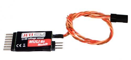 JETI Spannungssensor EX zu Duplex System bis 6s Lipo - Modul