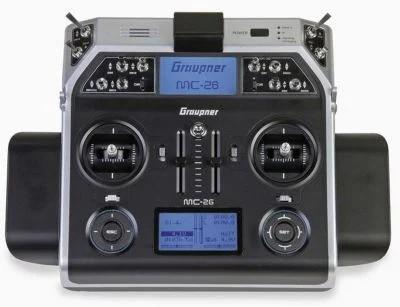 GRAUPNER MC-26 HOTT Einzelsender 2,4Ghz Fernsteuerung